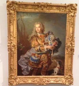 Gaspard de Gueidan en musicien par Hyacinthe Rigaud,  Musée GRANET